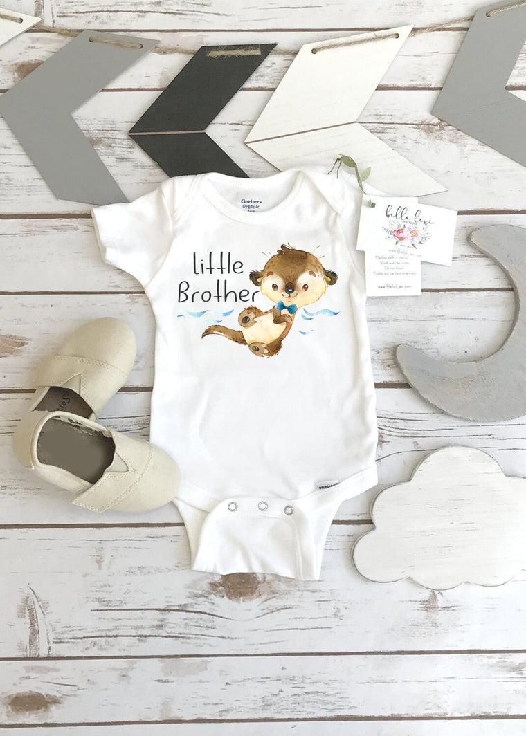 Little Brother Onesie®, Brothers Shirts, Big Brother Shirt, Baby Shower Gift, Baby Brother Gift
