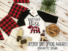 Brother Birthday Shirt, Lumberjack Birthday, 1st Birthday shirt, Buffalo Plaid Party, Lumberjack Party