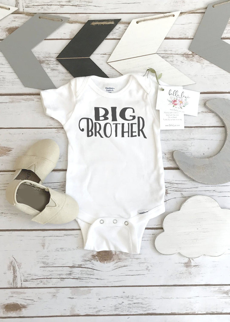 Big Brother Shirt, Brother Onesie, Brothers Shirts, Big Brother Onesie®, Promoted to Big Brother, Brothers tees, Big Brother Reveal, Boys