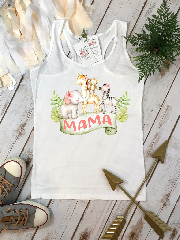 Mama Shirt, Mommy and Me shirts, Mommy and Me Outfits, Safari Party, Safari Birthday, Zoo Birthday, Zoo Party, Wild One Party,Two Wild Party
