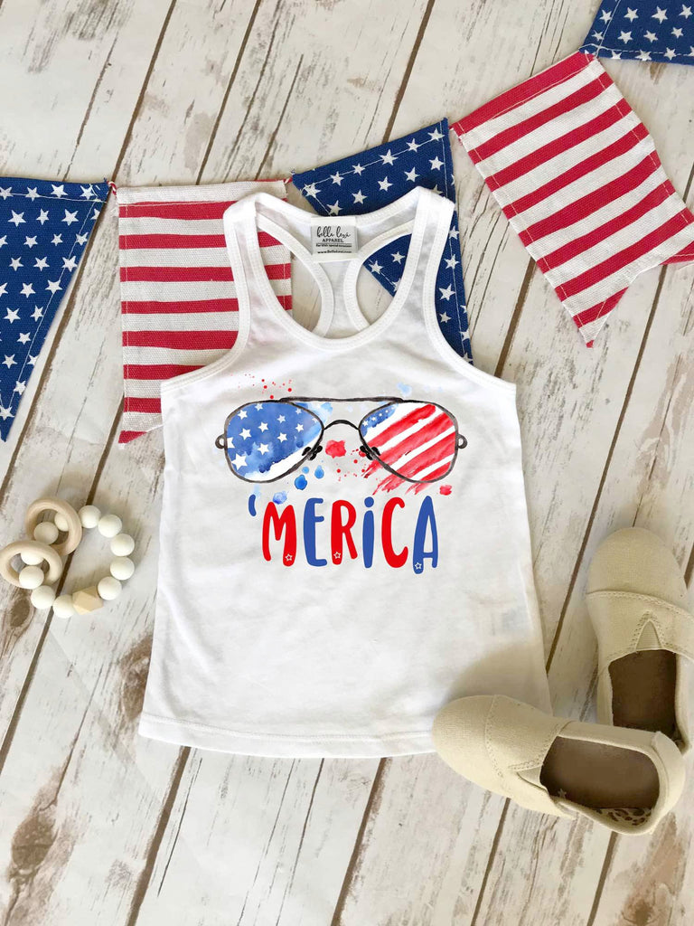 'Merica Shirt, 4th of July Outfit - Bella Lexi Boutique