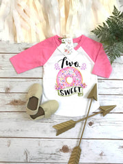 Two Sweet, Donut Birthday, Donut Party - Bella Lexi Boutique