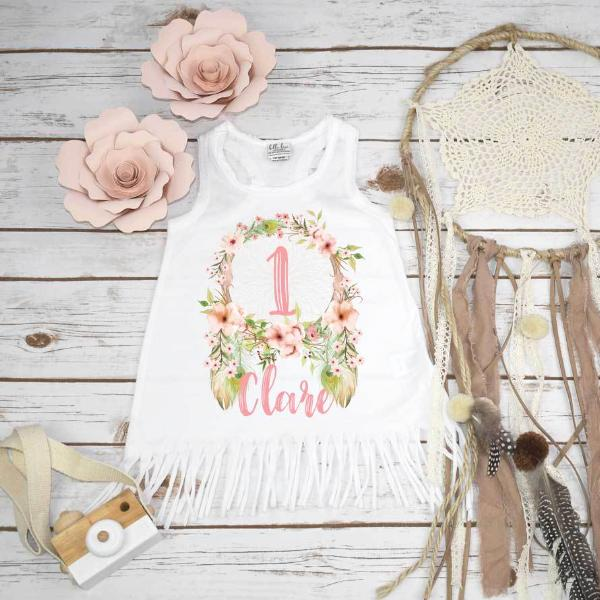 Boho Birthday Dress, Dreamcatcher Wild One - Bella Lexi Boutique
