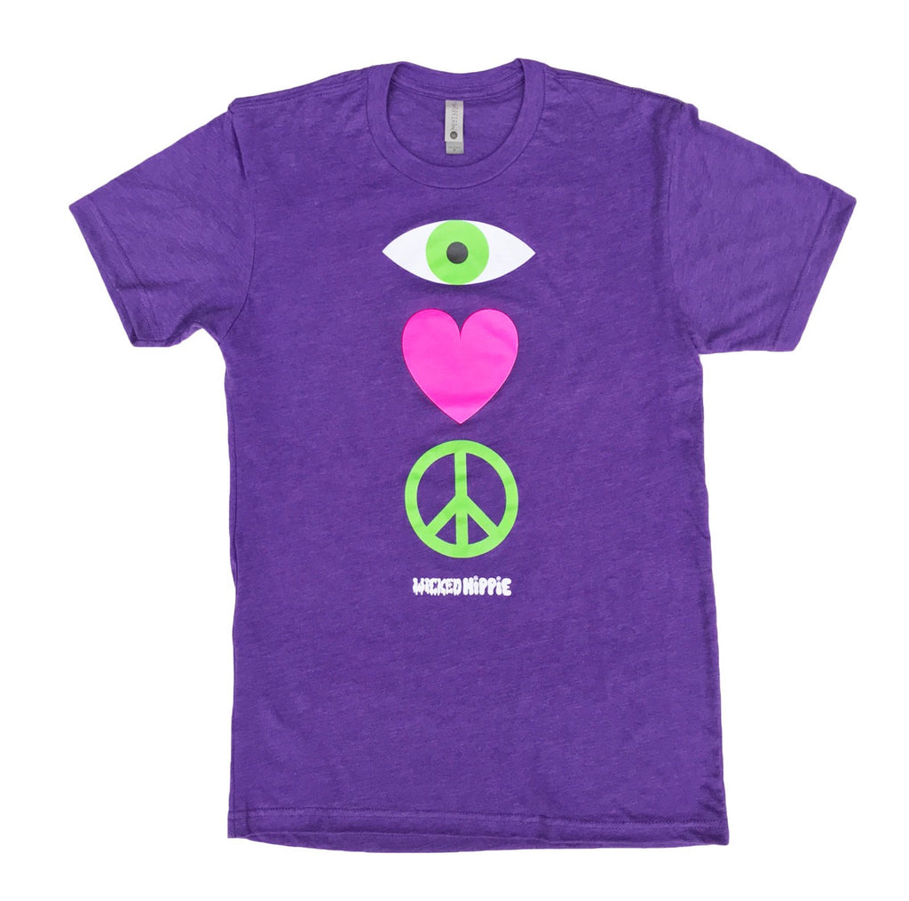 EYE HEART PEACE TSHIRT
