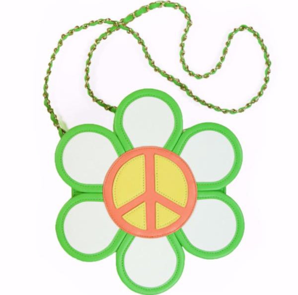 Peace n Petals Chain Purse