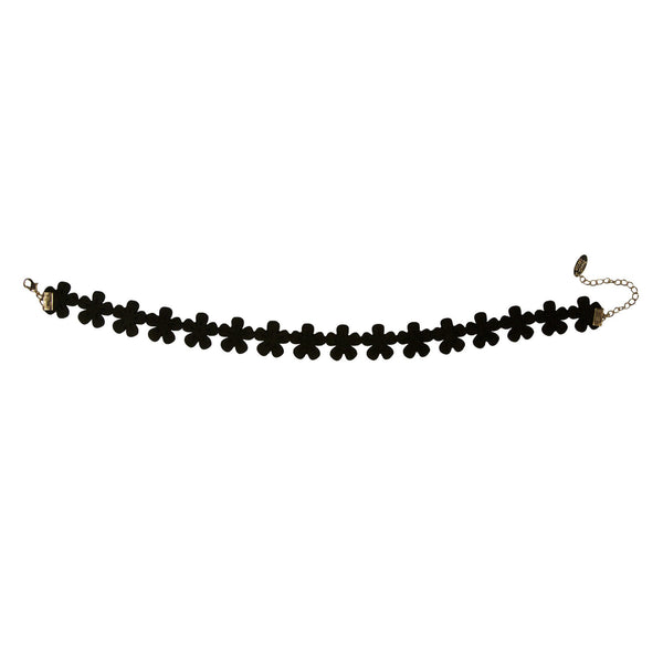 90s Throwback Black Magic Choker Necklace