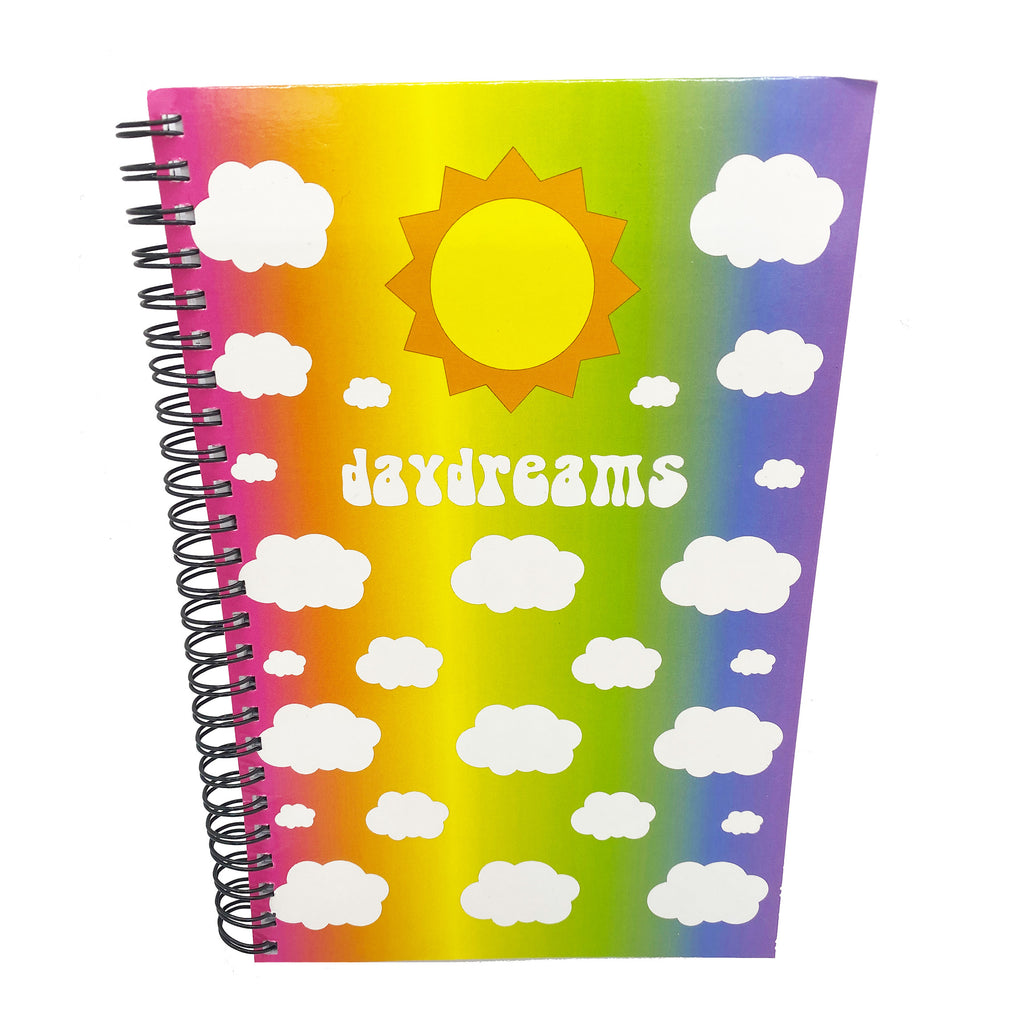 Daydreams Spiral Rainbow Notebook