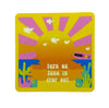 Orange Sunshine Sticker