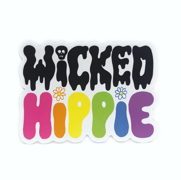 Wicked Hippie Logo Magnet