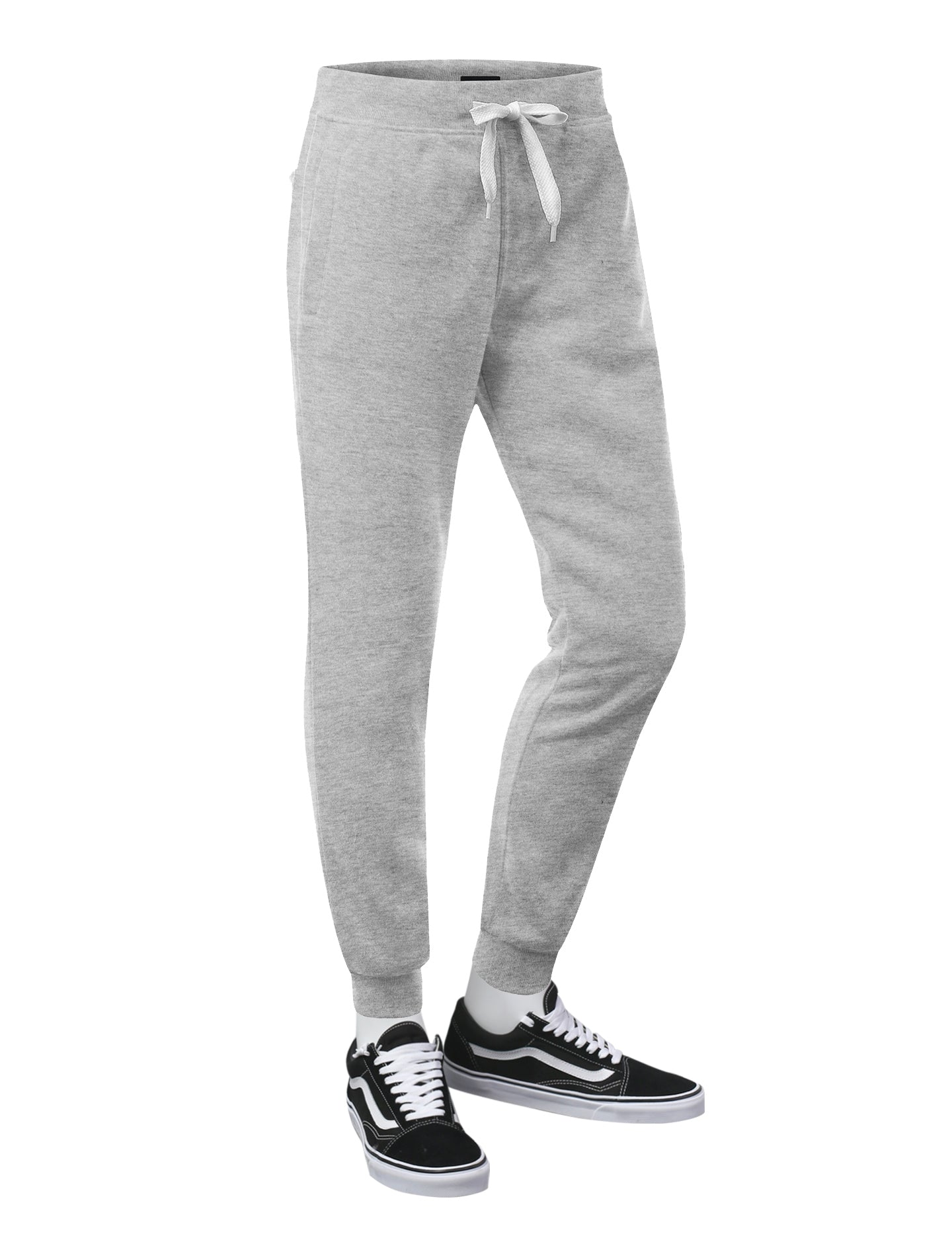 HGRAY Basic Fleece Jogger Sweatpants - URBANCREWS