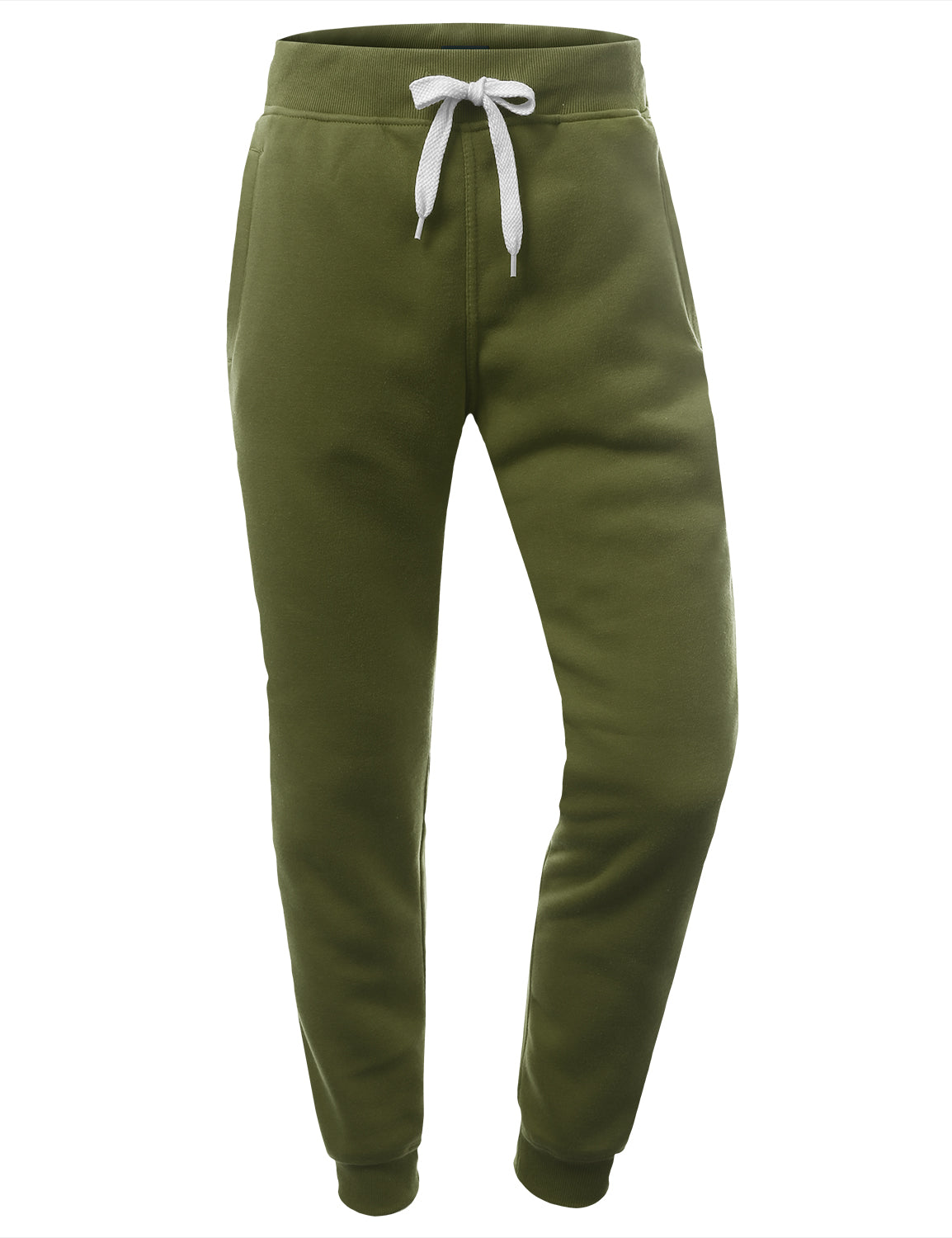 LTOLIVE Basic Fleece Jogger Sweatpants - URBANCREWS