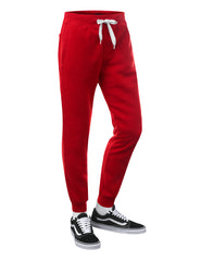 RED Basic Fleece Jogger Sweatpants - URBANCREWS