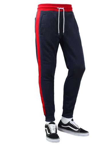Fleece Side Panel Jogger Sweatpants