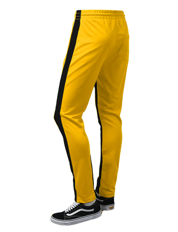Side Panel Skinny Track Pants