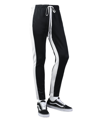 Double Stripe Skinny Track Pants