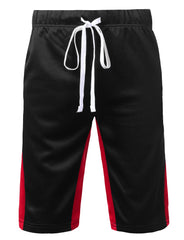 BLACKRED Basic Track Shorts - URBANCREWS