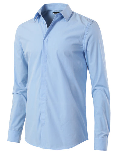 Slim Fit Button Down Dress Shirt