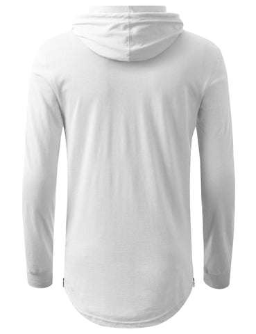 Basic Pullover Hoodie Shirt
