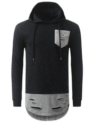 BLACK Oreo Long Sleeve Hoodie Sweatshirts - URBANCREWS