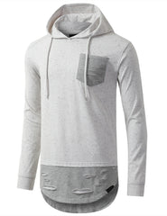WHITE Oreo Long Sleeve Hoodie Sweatshirts - URBANCREWS