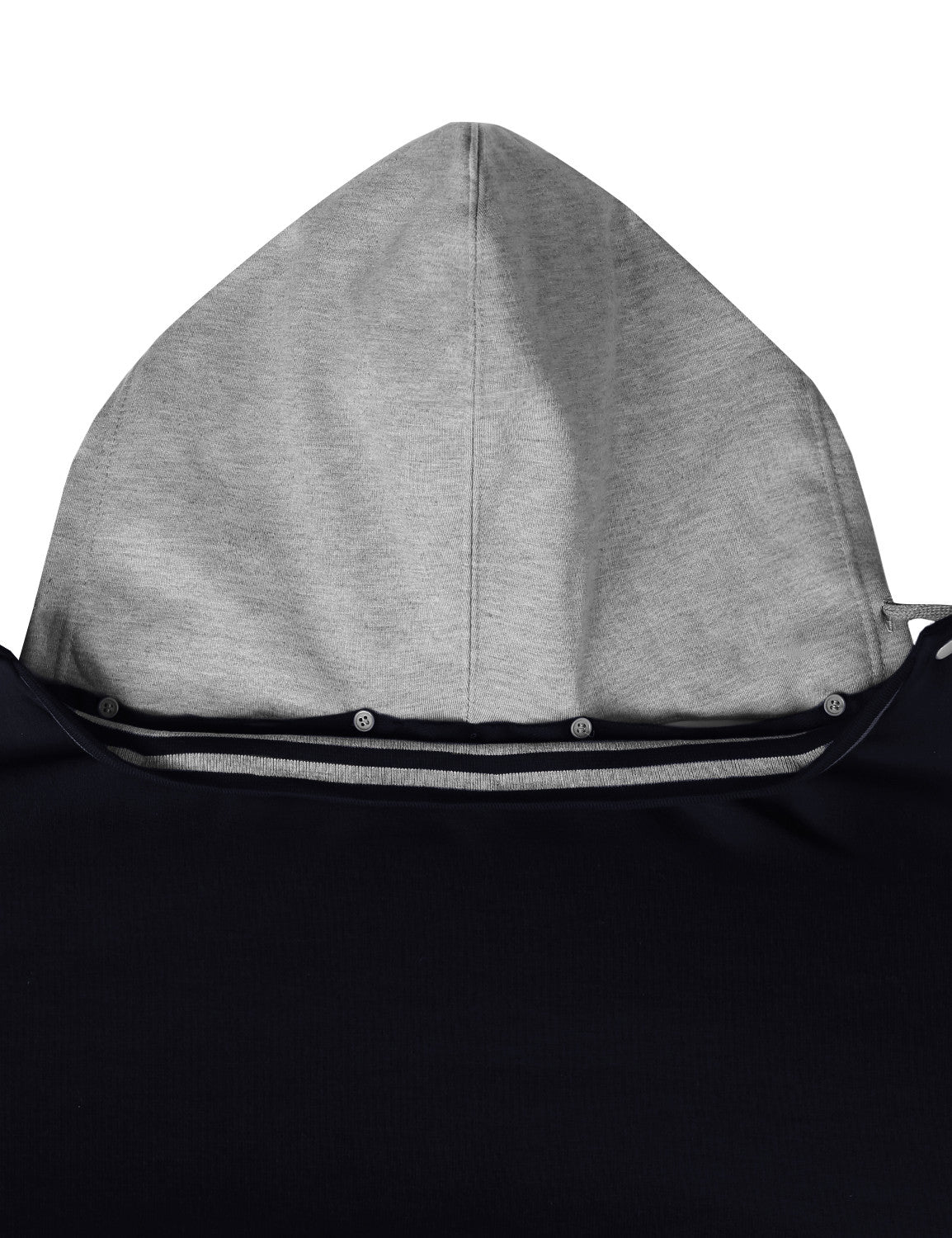 NAVYHGRAY Baseball Hoodie Jacket - URBANCREWS