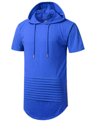ROYAL Short Sleeve Hoodie w/ Zippers - URBANCREWS