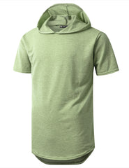 SAGE Heavy French Terry Hoodie T-shirt - URBANCREWS