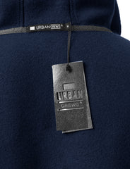 NAVY Basic Pullover Fleece Hoodie - URBANCREWS