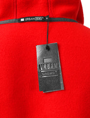 RED Basic Pullover Fleece Hoodie - URBANCREWS