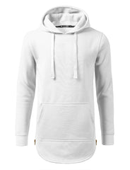 WHITE Basic Pullover Fleece Hoodie - URBANCREWS