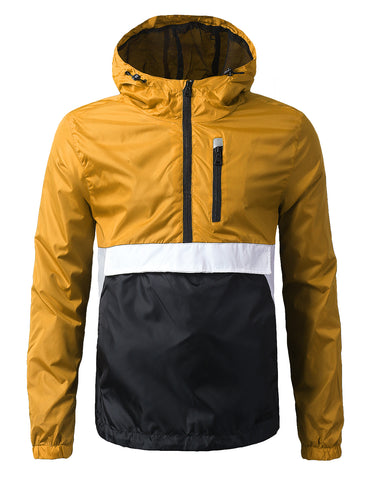 Pullover Half Zip-Up Anorak Jacket