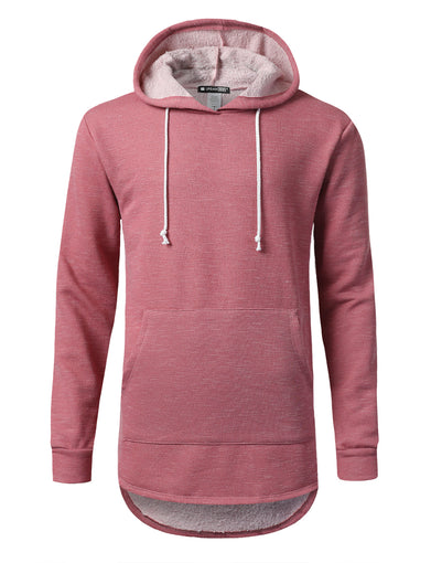 Fleece French Terry Pullover Hoodie