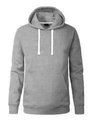 HGREY Lightweight Pullover Fleece Hoodie - URBANCREWS