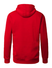 RED Lightweight Zip Up Fleece Hoodie - URBANCREWS
