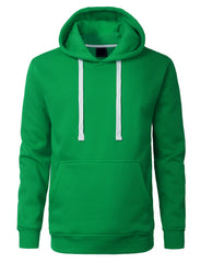 KGREEN Basic Pullover Fleece Hoodie - URBANCREWS