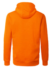 ORANGE Basic Pullover Fleece Hoodie - URBANCREWS