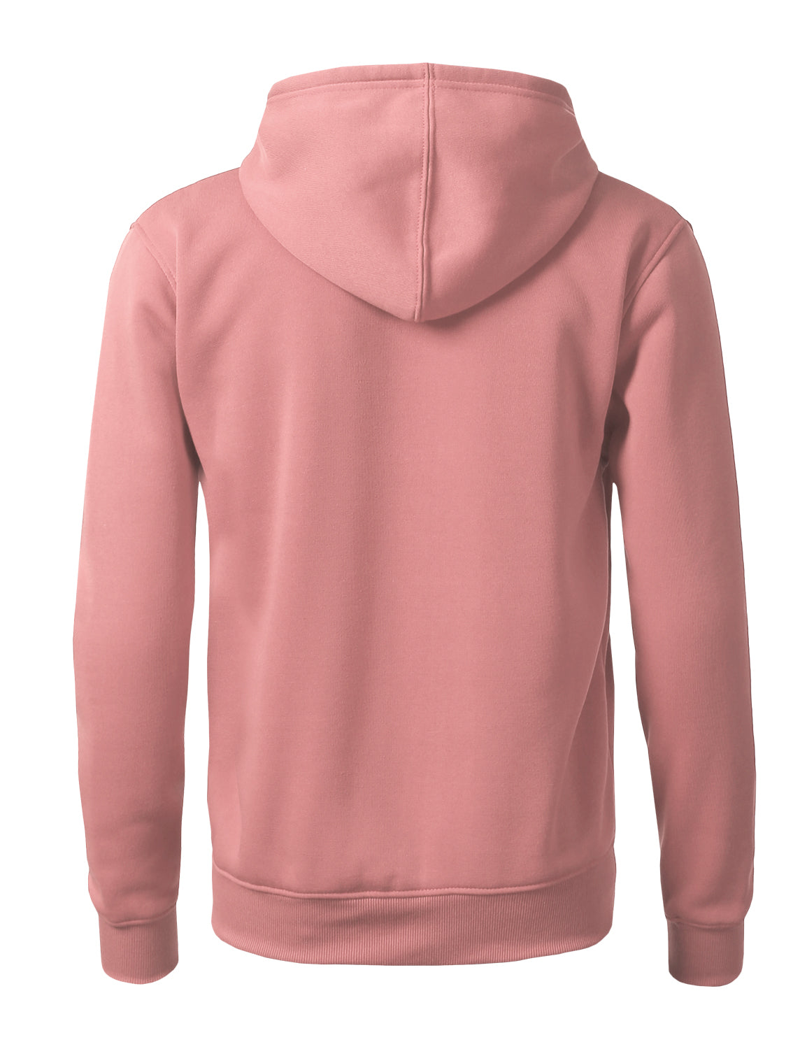 PINK Basic Pullover Fleece Hoodie - URBANCREWS