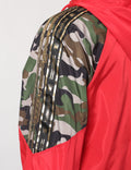RED - CAMO WINDBREAKER