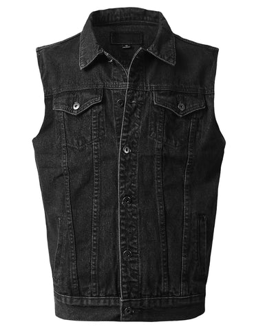 Fashion Denim Vest Jacket