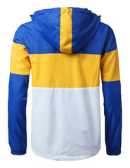 ROYAL Color Block Windbreaker Jacket - URBANCREWS