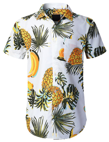Allover Fruits Printed Button Shirts