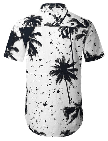 Palm Trees Button Down Shirt