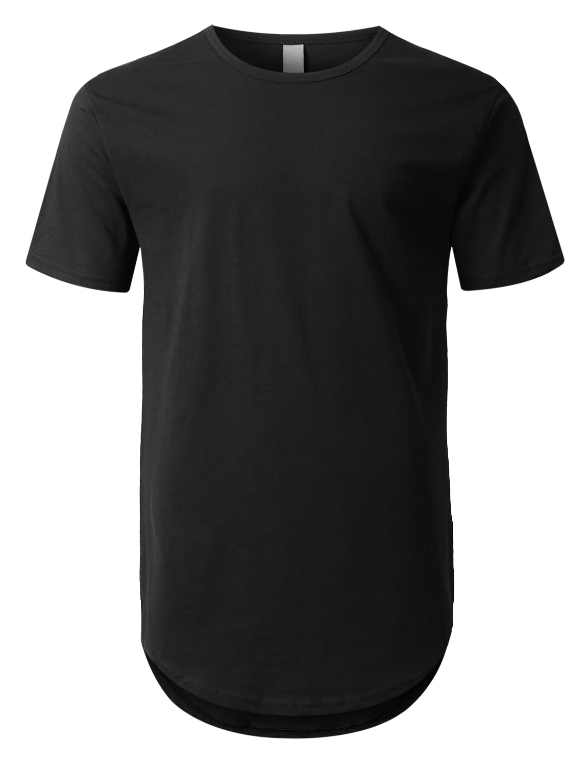 BLACK Crewneck Basic T-Shirts 4 Pack Black/Black