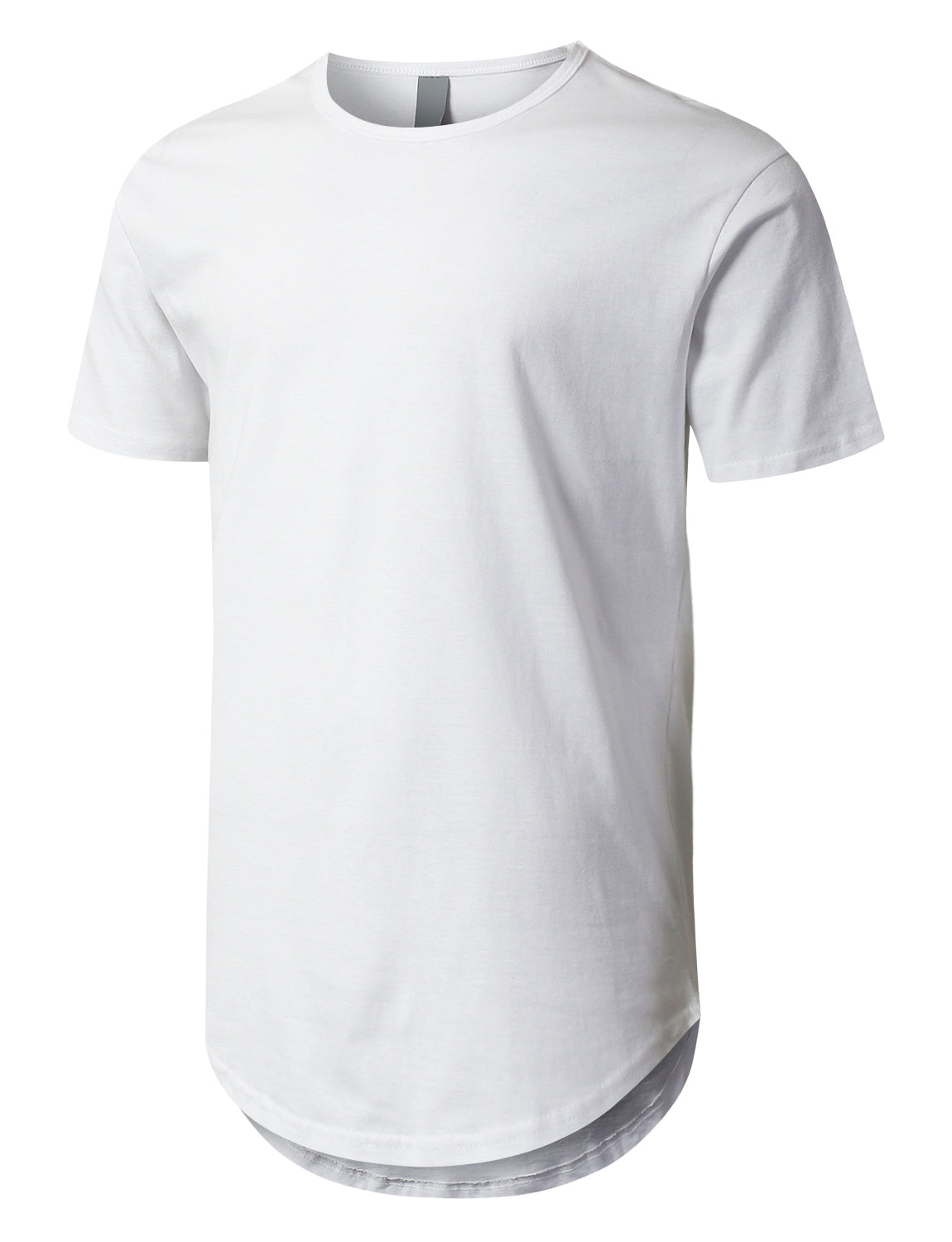 WHITE Crewneck Basic T-Shirts White