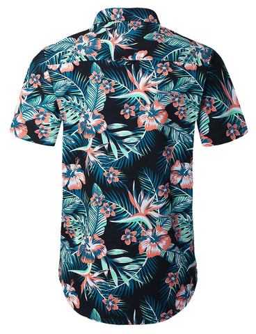 Hawaii Short Sleeve Button Shirt