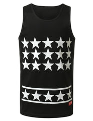 BLACK All Star Jersey Tank Top - URBANCREWS