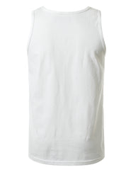 WHITE All Star Jersey Tank Top - URBANCREWS