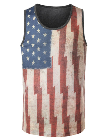 American Flag Freedom Tank Top