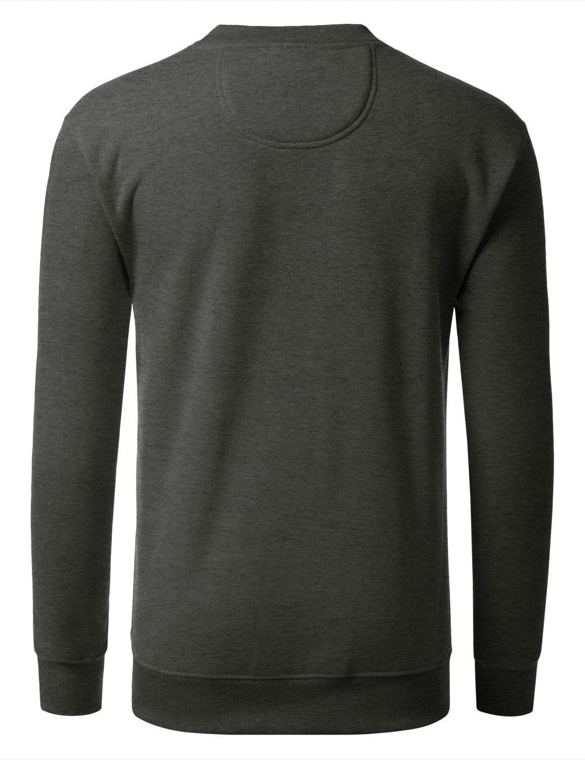 CHARCOAL Basic Crewneck Sweatshirt-Various Colors - URBANCREWS