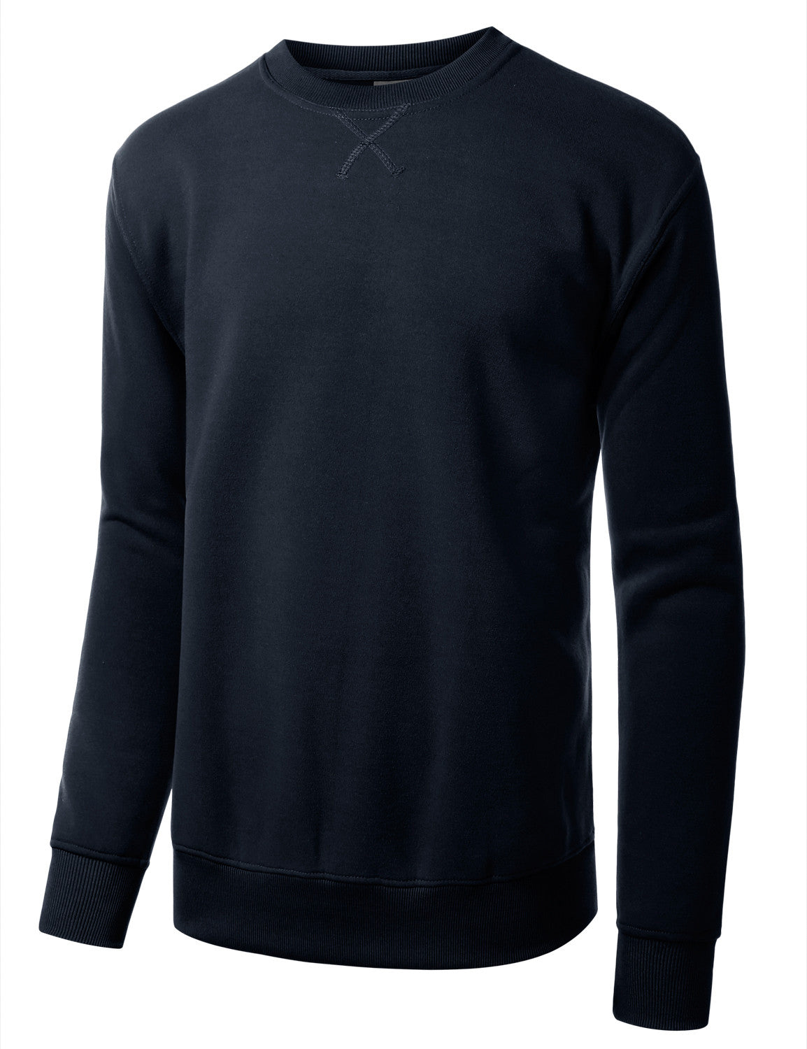 NAVY Basic Crewneck Sweatshirt-Various Colors - URBANCREWS